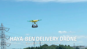 HAYA-BEN DELIVERY DRONE
