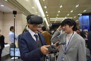 VR体験の様子