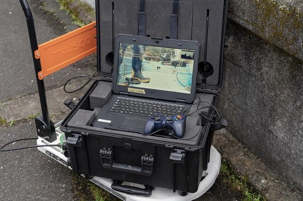 ROV操作端末