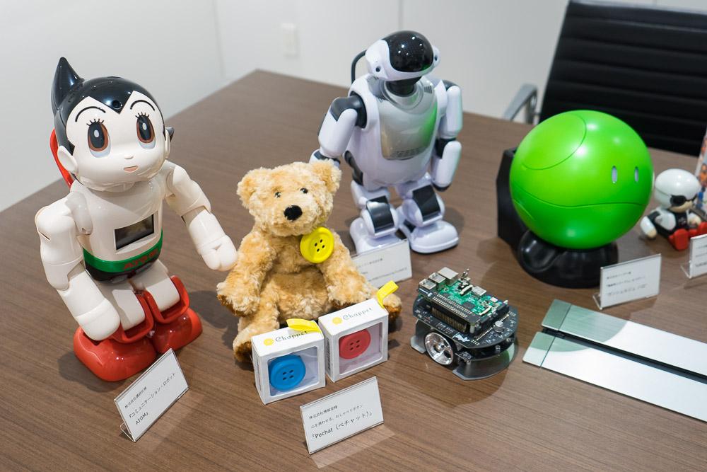 EMS事業で開発に携わったロボットの一部