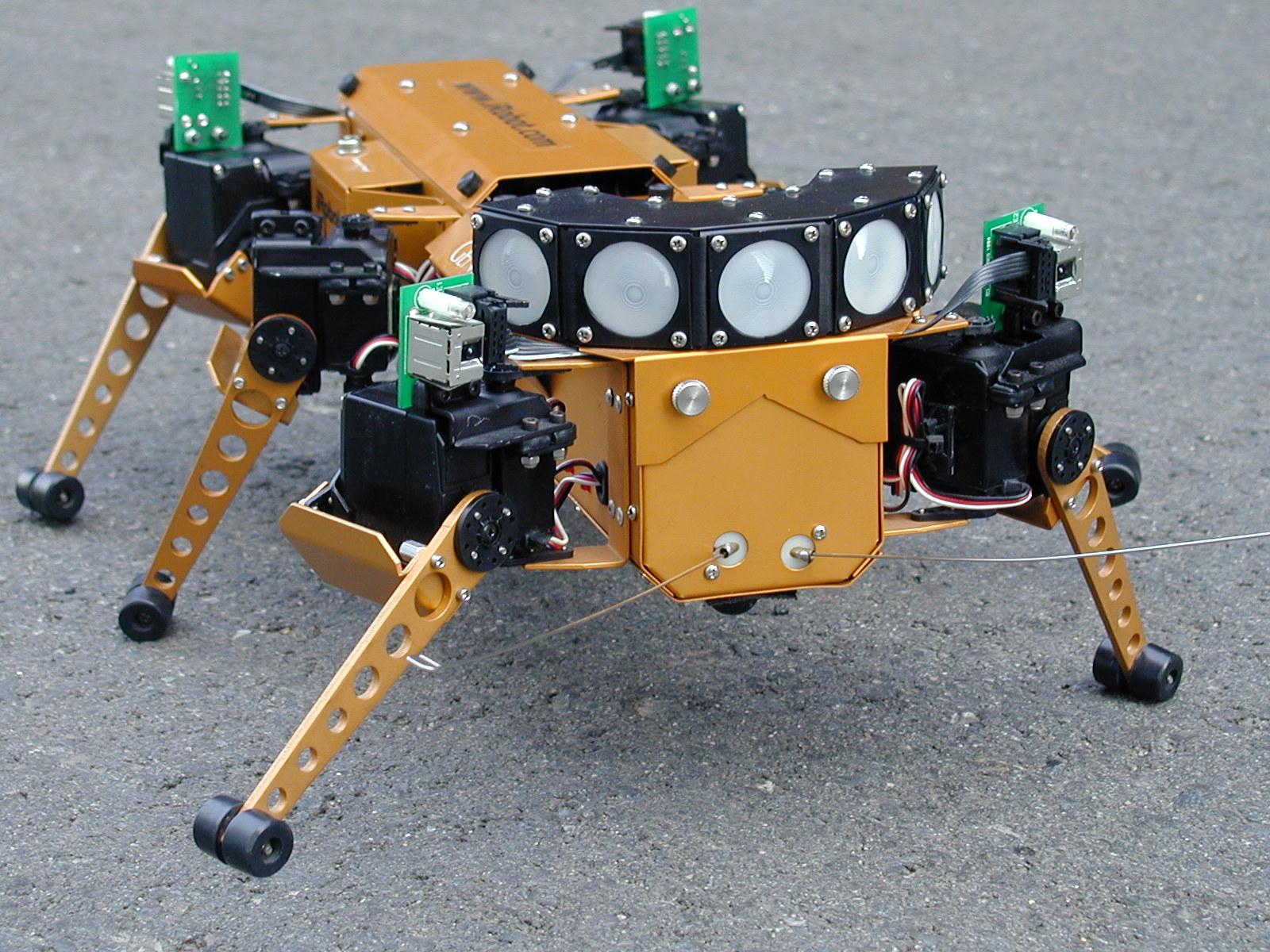 地球外探査ロボットGenghis(ジンギス)