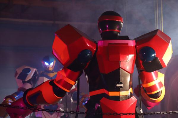 Rfightのロボットの背中