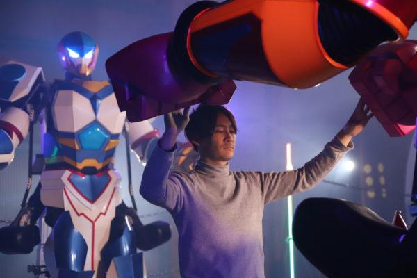 Rfightのロボットとスケルトニクス社CEO廣井さん