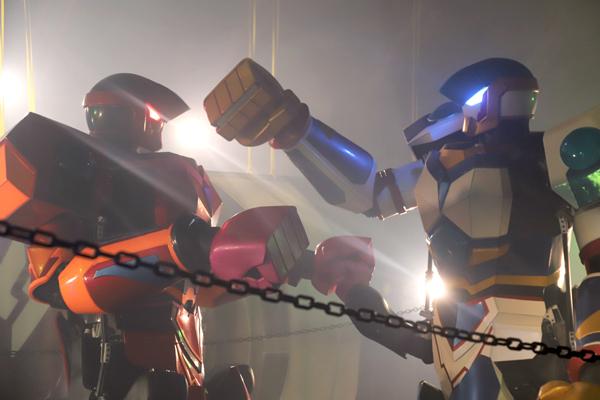 RFIGHTでロボットが戦う様子