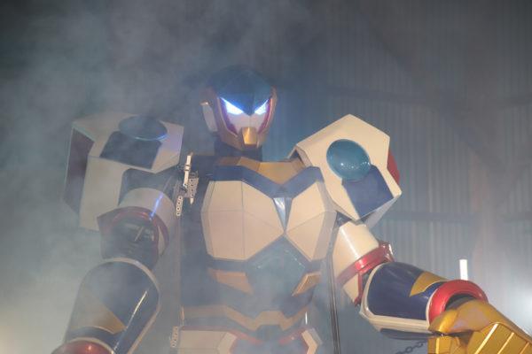 Rfightの青いロボット