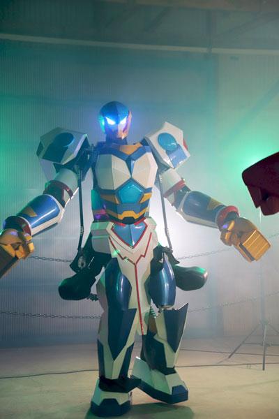 Rfightのロボット全身