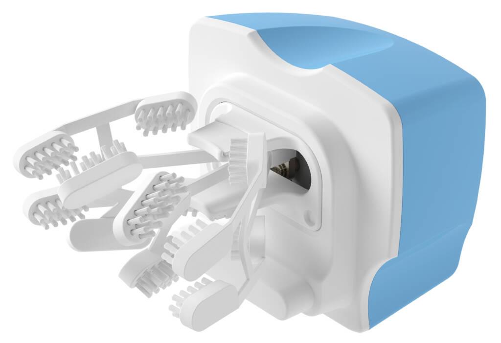 次世代型全自動歯ブラシの画像